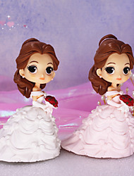 cheap -Cake Topper Classic Theme / Holiday / Wedding Artistic / Retro / Unique Design ABS Resin Wedding / Birthday with Splicing 1 pcs OPP
