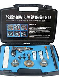 cheap -Car Brake Wheel Hub Axle Descaling Tool Brake System Depth Maintenance Flange Descaling Tool
