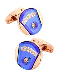 cheap -Cufflinks Fashion Elegant Brooch Jewelry Golden For Wedding Formal
