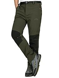 cheap -Men's Hiking Pants Winter Outdoor Waterproof Windproof UV Resistant Breathable Pants / Trousers Hunting Ski / Snowboard Hiking Black Hunter Green Gray L XL XXL XXXL 4XL / Wear Resistance