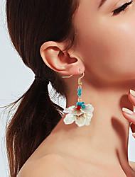 cheap -Women's Drop Earrings Tropical Shell Bohemian Resin Shell Earrings Jewelry Rainbow For Wedding Street Holiday 1 Pair