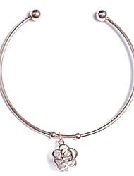 abordables -Manchettes Bracelets Bracelet Cape Cod Femme Classique simple Bracelet Bijoux Argent Or Rose pour Vacances Travail Festival