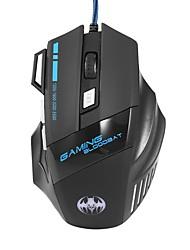 cheap -LITBest Flying bat Wired USB Gaming Mouse RGB Light 3200 dpi 4 Adjustable DPI Levels 7 pcs Keys