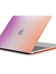 cheap -MacBook Case Color Gradient Plastic / ABS for MacBook Air 13-inch