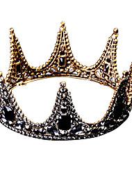 Недорогие -Серьги-слезки Серьги-кольца Диадемы Лоб Корона Короны Маскарад Готика Lolita Барроко Элегантный стиль Хром Назначение Черный лебедь Косплей Жен. Девочки Бижутерия Модное ювелирное украшение