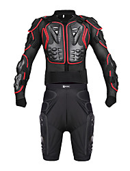 cheap -WOSAWE Motorcycle Crash Suit Sport Armor Off-road Racing Crash Suits Motorcycle Protective  Equipment Set