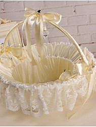 "cheap -Flower Basket Lace 8 3/5"" (22 cm) Floral / Flower 1 pcs"