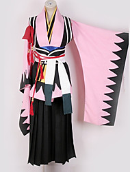 cheap -Inspired by Cosplay Cosplay Anime Cosplay Costumes Japanese Cosplay Suits Mixed Color More Accessories / Costume For Men's / Women's