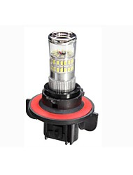 cheap -H13 3014 48SMD LED Car White Fog Light Bulb Headlight DRL 600LM 4.8W