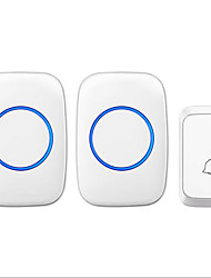 cheap -Wireless One to Two Doorbell Music / Ding dong Non-visual doorbell