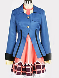 cheap -Inspired by Cosplay Cosplay Anime Cosplay Costumes Japanese Cosplay Suits British Contemporary Coat Top Dress For Men's Women's / T-shirt / Tie / T-shirt / Tie