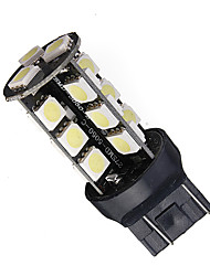 cheap -T20 7443 Canbus Error Free 27 SMD 5050 LED Tail Reverse Turn Light Bulb