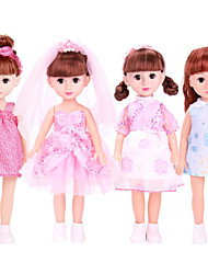 cheap -Fashion Doll Talking Toy Baby Girl 16 inch Silicone - Smart lifelike Kids / Teen Kid's Unisex Toy Gift