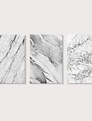 cheap -Print Stretched Canvas Prints - Abstract Modern Modern Three Panels Art Prints