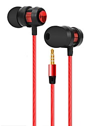 cheap -JTX Wired In-ear Earphone Wired New Design Stereo with Microphone Comfy Sport Fitness