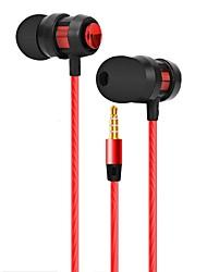 Недорогие -JTX Наушники-вкладыши Проводное Новый дизайн Стерео С микрофоном удобный Спорт и фитнес