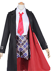 cheap -Inspired by Fate / Grand Order FGO Saber Cosplay Anime Cosplay Costumes Japanese Cosplay Suits Other Coat Shirt Pants For Unisex