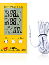 cheap -DC105 LCD Digital Thermometer Hygrometer Weather Station Household Indoor