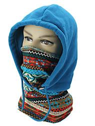 Недорогие -Балаклава полнолицевая маска флис ветрозащитная шея теплый капюшон лыжная шапка мотоцикл саху