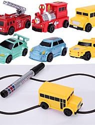 Недорогие -волшебная ручка индуктивный автомобиль игрушка автоматическая линия следа вы рисуете детские игрушки новинки игрушки