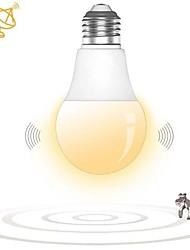 Недорогие -1 шт. E27 светодиодный микроволновой радар движения датчик окружающей среды свет лампы умные лампочки для коридора гаража ac180-240v