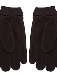cheap -Men Winter Knit Driving Gloves Soft Full Finger Warmer