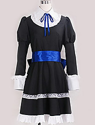 cheap -Inspired by Cosplay Cosplay Anime Cosplay Costumes Japanese Cosplay Suits Contemporary Cravat / Dress / Bow For Men's / Women's