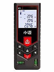 cheap -MILESEEY Mini-Meters 0.05-120m Laser distance meter Handheld / Easy to Use for engineering measurement / for traffic security / for building Construction