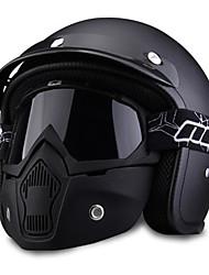 cheap -Motorcycle Helmet Four Seasons Semi-covered Helmets For Harley