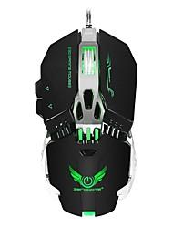 cheap -ZERODATE X800 Wired USB Gaming Mouse / Office Mouse Led Light 3200 dpi 4 Adjustable DPI Levels 8 pcs Keys 8 Programmable Keys