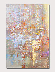 cheap -Oil Painting Hand Painted Vertical Panoramic Abstract Landscape Comtemporary Modern Stretched Canvas