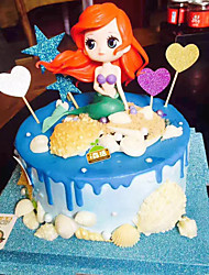 cheap -Cake Topper Classic Theme / Holiday / New Baby Artistic / Retro / Unique Design ABS Resin Party / Birthday with Splicing 1 pcs OPP