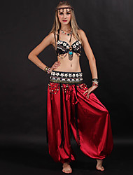 cheap -Belly Dance Pants Ruching Women's Training Performance Sleeveless Dropped Polyester