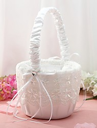 "cheap -Flower Basket Others 8 3/5"" (22 cm) Satin Bow / Lace 1 pcs"