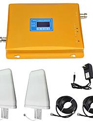 Недорогие -2g4g мобильный усилитель сигнала повторитель усилитель сигнала 900/1800 двухдиапазонный
