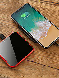 cheap -Wireless Charger USB Charger USB Wireless Charger / Qi 1 USB Port 2.4 A DC 9V / DC 5V for iPhone X / iPhone 8