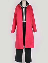 preiswerte -Inspiriert von Fullmetal Alchemist Cosplay Anime Cosplay Kostüme Japanisch Cosplay Kostüme Solide Mantel Top Hosen Für Herrn Damen / Handschuhe / T-shirt / Handschuhe / T-shirt