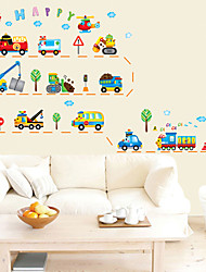 cheap -Decorative Wall Stickers - Plane Wall Stickers Shapes Living Room / Bedroom / Bathroom 160*90cm