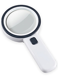 cheap -1288-2G Hand Held Magnifying Glass 15X For Office and Teaching
