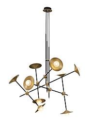 abordables -ZHISHU 9 lumières Géométrique / Nouveauté Lustre Lumière d'ambiance Finitions Peintes Métal Verre Créatif, Design nouveau 110-120V / 220-240V