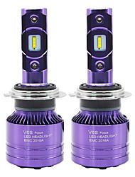 Недорогие -SO.K 2pcs 9007 / H7 / H4 Автомобиль Лампы 50 W СНТ 6000 lm 2 Светодиодная лампа Противотуманные фары / Налобный фонарь Назначение Все года