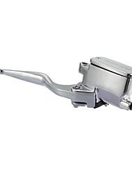abordables -Maitre cylindre de frein moto avant droit 1 pouce pour harley davidson 04-11