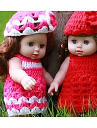 cheap -KIDDING Reborn Doll Girl Doll Baby Girl 12 inch Full Body Silicone Silicone Vinyl - lifelike Handmade Cute Kids / Teen Kid's Unisex Toy Gift