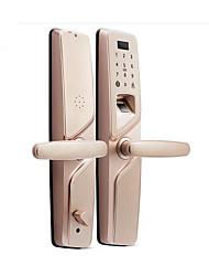 cheap -HOLISHI® Smart Lock Combination Lock Fingerprint Lock/Zinc Alloy lock /Smart Home Security System RFID / Fingerprint unlocking / Password unlocking Household / Home/Office