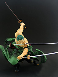 cheap -Anime Action Figures Inspired by One Piece Roronoa Zoro PVC(PolyVinyl Chloride) 20 cm CM Model Toys Doll Toy