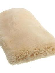 abordables -24x16cm auto moteur maison propre gant de lavage polissage laine de laine d'agneau laine de polissage