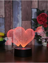 cheap -Other LED Lights Acrylic Wedding Decorations Wedding / Valentine's Day Wedding / Birthday / Heart All Seasons