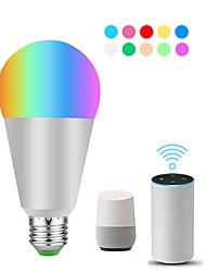 cheap -1pc 10 W LED Smart Bulbs 900 lm E26 / E27 ST19 22 LED Beads SMD 5730 APP Control Smart Timing RGBW 100-240 V