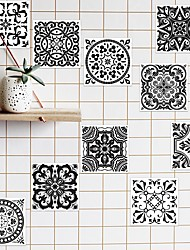cheap -1 Packed 10 Pieces Removable Wall Sticker for Kitchem/Bathroom