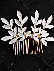 cheap -Imitation Pearl / Alloy Hair Combs with Imitation Pearl / Crystal / Rhinestone 1 Piece Wedding / Special Occasion Headpiece